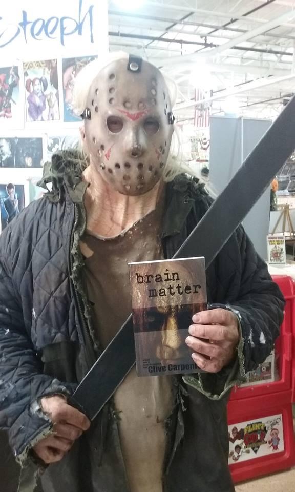 Jason got a handful of Brain Matter.