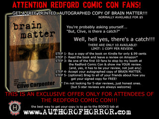 Are You Attending the REDFORD COMIC CON on January 23rd?