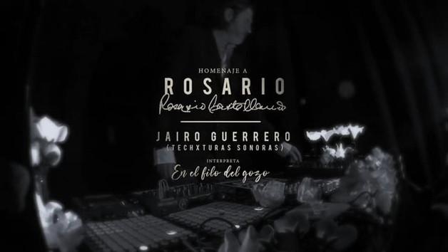 """Instalación sonora-vivencial """"Al Filo del Gozo. Techxturas Sonoras homenaje a Rosario Castellanos"""