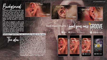 SoyJairoGuerrero/Creative Consulting y The Groove Culture lanzan campaña para dar a conocer la cura a la mala música