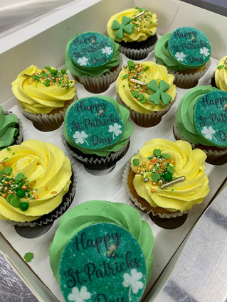 St.Patricks Day Cupcakes