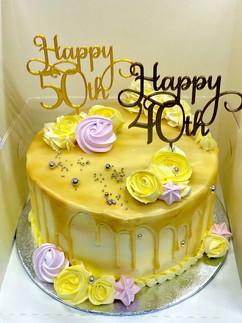 Yellow/Gold Cake