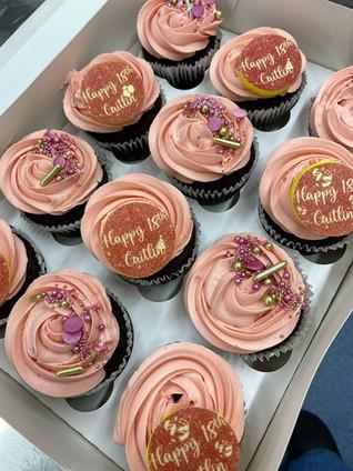 Pink Cupcakes (Standard Box)