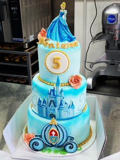 Cinderella themed Three Tier Cake.jpeg