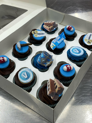 Fortnite Cupcakes