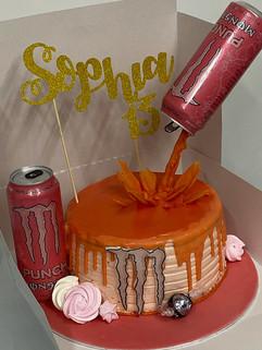 Monster Themed Cake