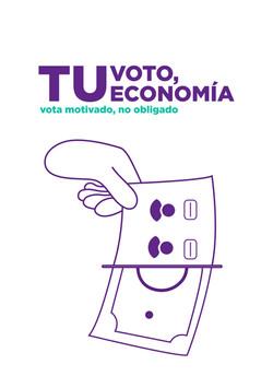 Tu voto, tu economía