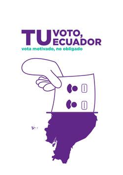 Tu voto, tu Ecuador