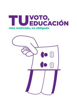 Tu voto, tu educación