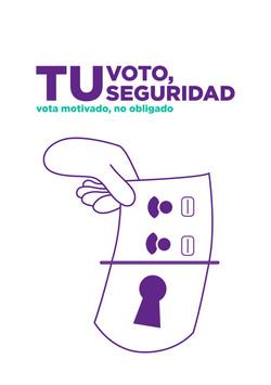 Tu voto, tu seguridad