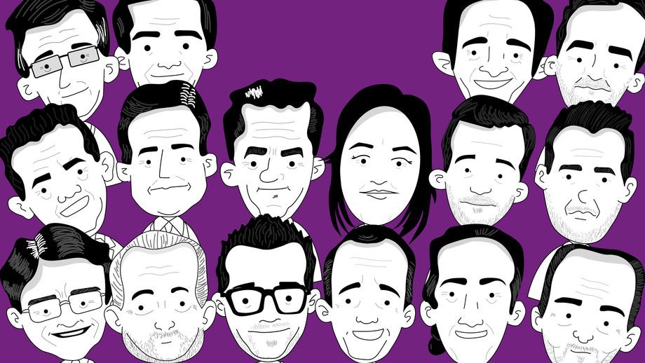 Candidatos a la presidencia del Ecuador