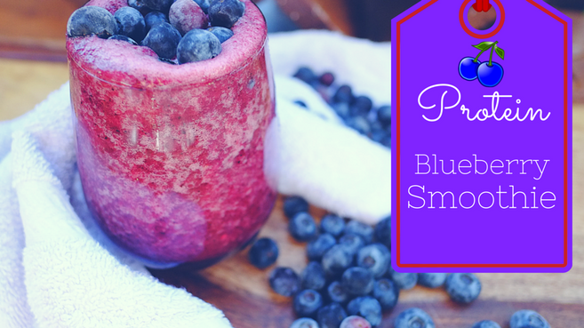 Protein Blueberry Smoothie