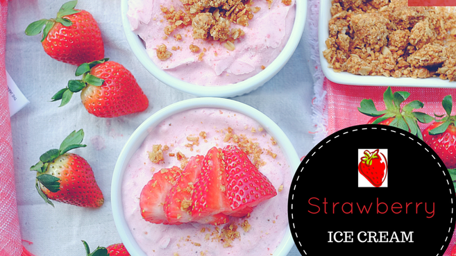"Strawberry ""Ice Cream"""