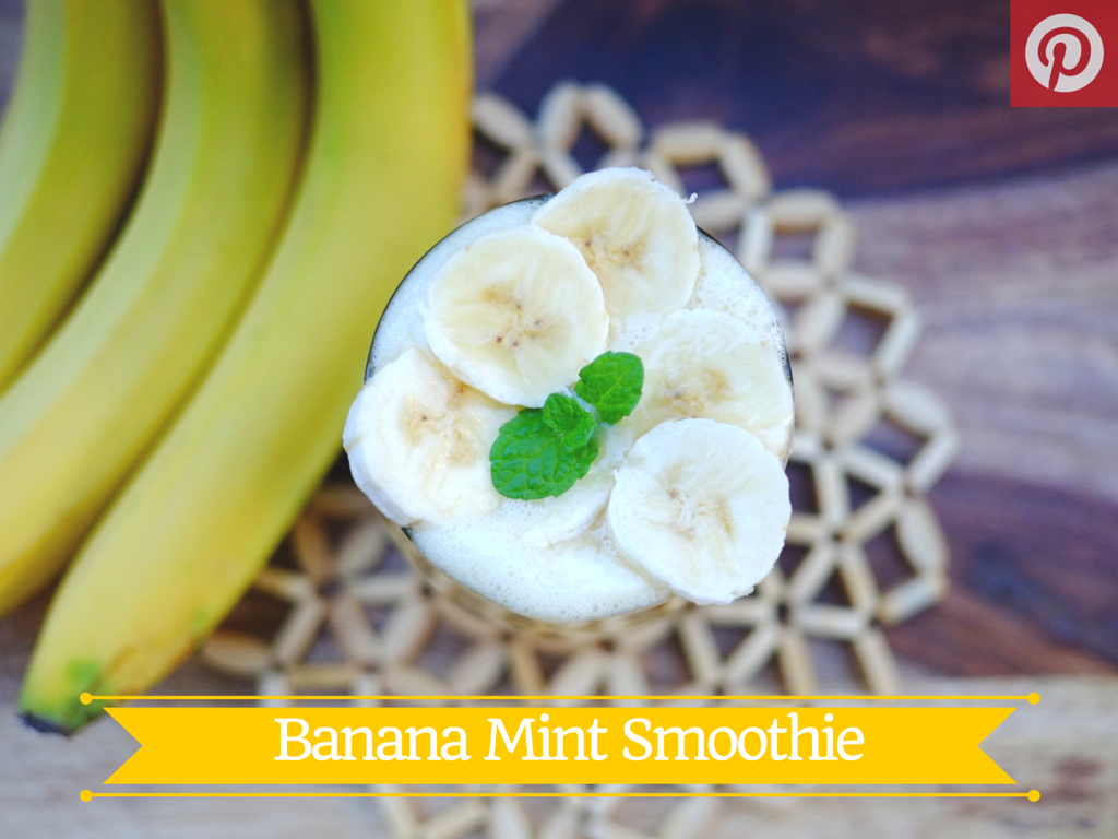 Banana Mint Smoothie