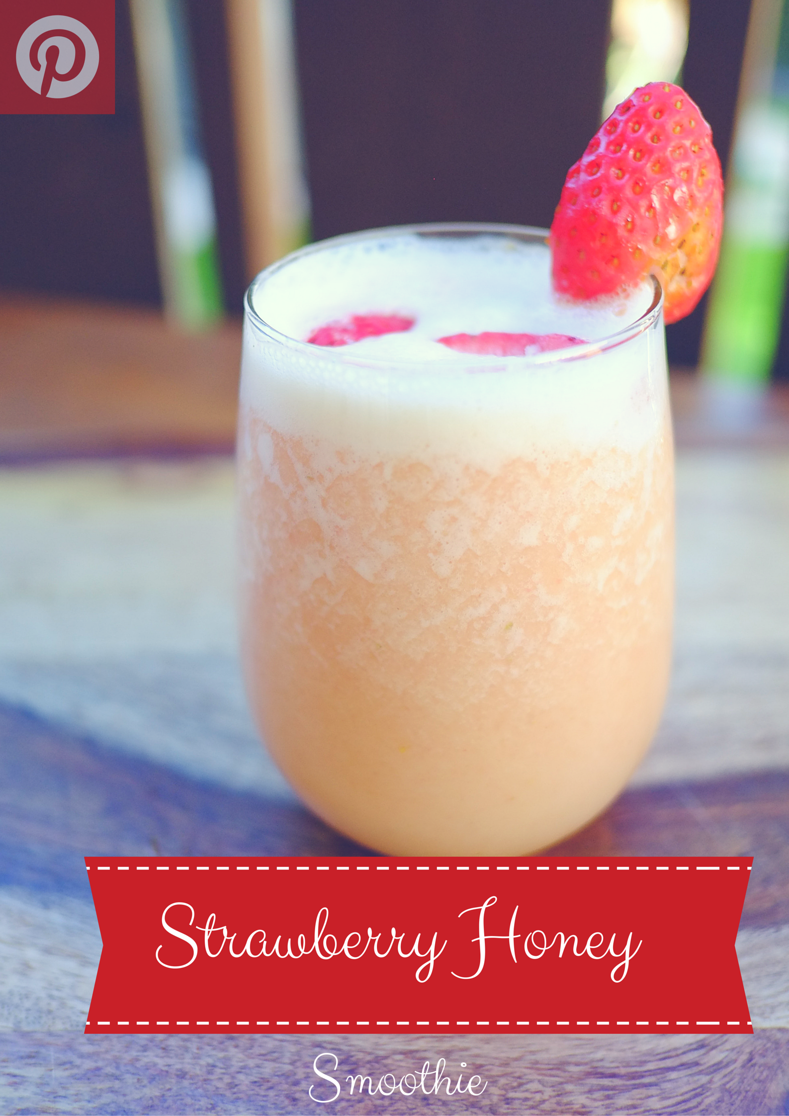 Strawberry Honey Smoothie
