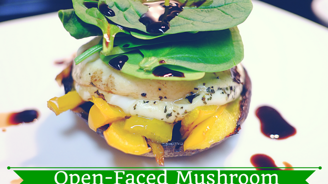 Open-Faced Mushroom Sandwich