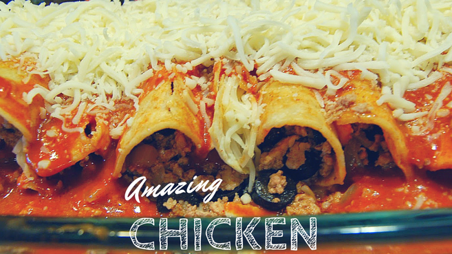The Amazing Chicken Enchiladas (Gluten Free)
