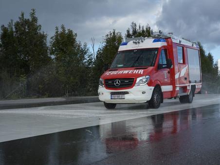Fahrsicherheitstraining für Einsatzfahrzeuge