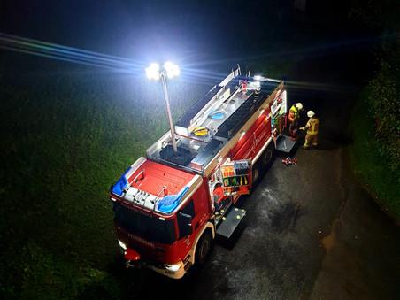 Gemeinsame Übung mit der Feuerwehr Hohenems