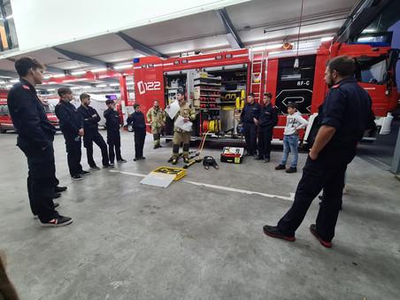 Spannende Jugendprobe mit der Feuerwehr Hohenems