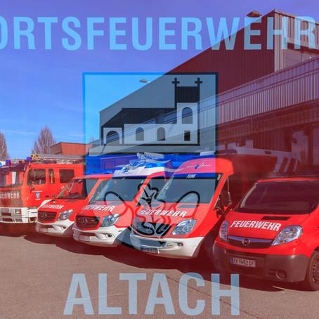 E19 - F14 Altach, Kirchfeldstrasse 1a KOM - BMZ hat ausgelöst