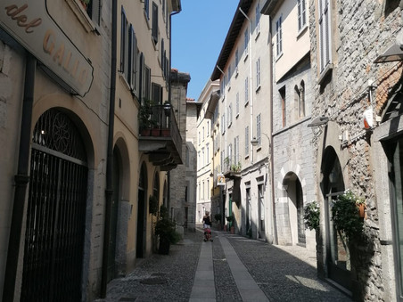 Feuerwehr-Ausflug nach Bergamo