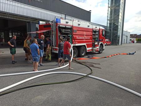 """Besuch der Feuerwehr """"Steinach am Brenner"""""""