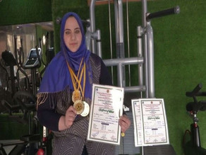 'The Golden Girl'-Saima Ubaid, becomes J and K's First Woman powerlifter