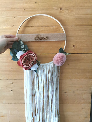 Dreamcatcher dusty pink