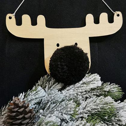 Black Reindeer (set of 3)