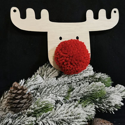 Red Reindeer (set of 3)