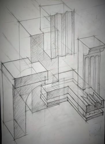 Линейно-конструктивный рисунок. Композиция_4..jpg