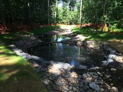 STA 16+75 - Downstream - Step Pools