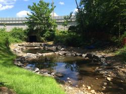 STA 11+75 - Upstream - Step Pools