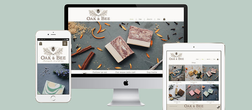 Oak and Bee Website layout_green_Long.jp