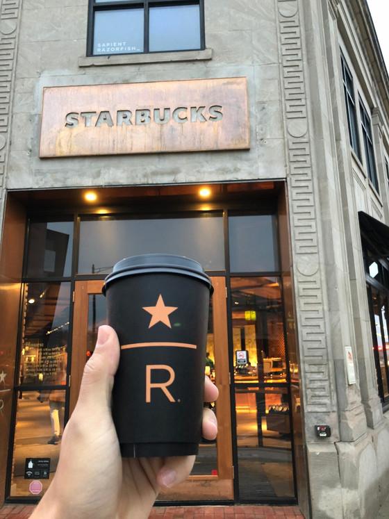 Starbucks Reserve 😮...