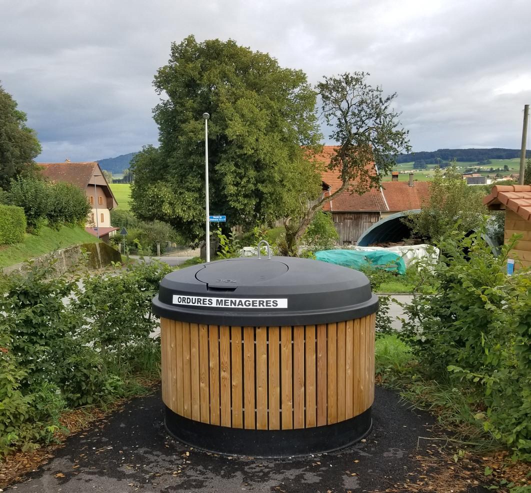 Collecte des déchets / Abfahlsammlung / Villorsonnens