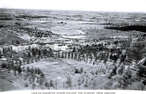 croppedAerial View of Nazareth c. 1927_N