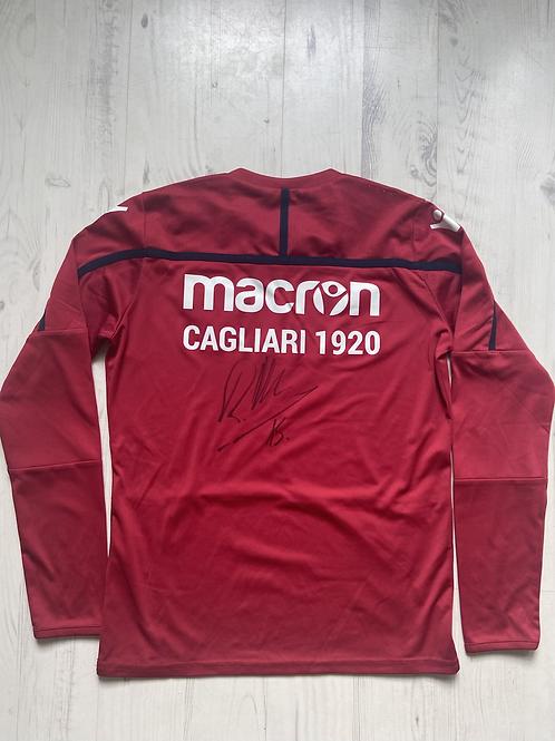 Cagliari pluus Klavani autogrammiga, XS