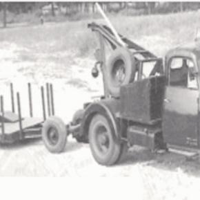 Citroën type 55 fourrière avec remorque