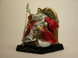 Napoléon 1er sur son trône