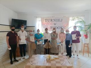 Turniej Sudoku w Domu Pomocy Społecznej w Gryficach [INFORMACJA]