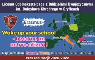 Erasmus + Konkurs na logo projektu!