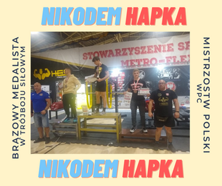 Tam sięgaj, gdzie wzrok nie sięga… Kolejny sukces Nikodema Hapki!