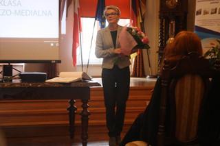 Spotkanie z  Zachodniopomorskim Kuratorem Oświaty panią Magdaleną Zarębską-Kuleszą