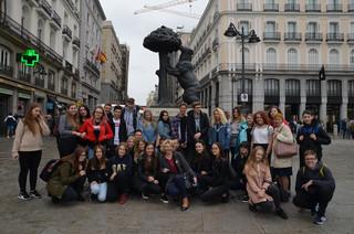 Wycieczka do Madrytu  2018