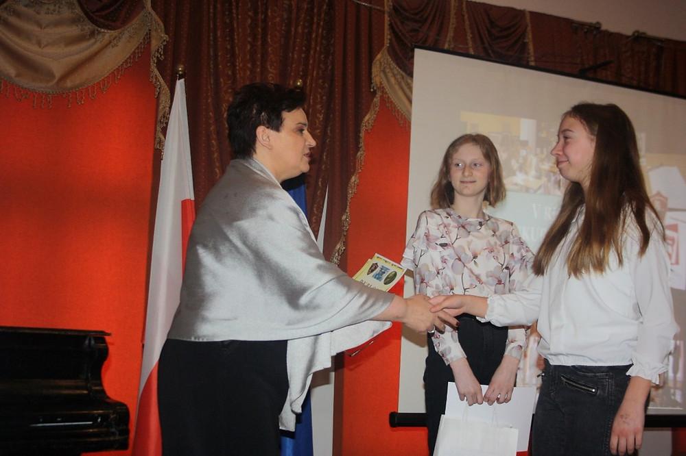 Wręczenie nagród i dyplomów