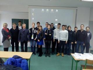 Wizyta na Politechnice Koszalińskiej klasy IC