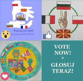 GŁOSOWANIE! Logo projektu Erasmus+