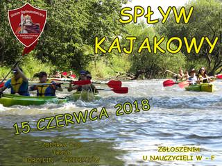 Zapraszamy na spływ kajakowy rzeką Regą !